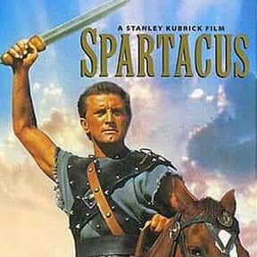 Spartacus is listed (or ranked) 12 on the list The Best Sword and Sandal Films Ever Made
