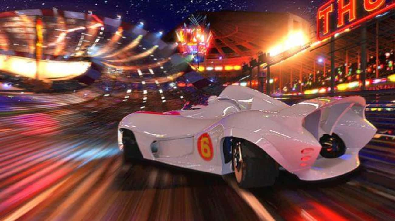 Speed Racer is listed (or ranked) 3 on the list Visually Stunning Movies That Are Also Just Trash