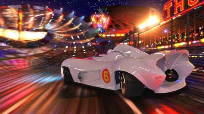 Speed Racer is listed (or ranked) 4 on the list Visually Stunning Movies That Are Also Just Trash