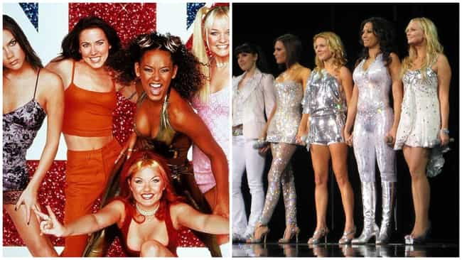 Spice Girls is listed (or ranked) 4 on the list Your Childhood Crushes (Then And Now)