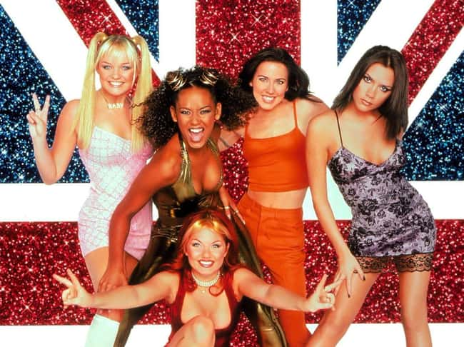 Spice Girls is listed (or ranked) 7 on the list 45 of Your Childhood Crushes (Then and Now)