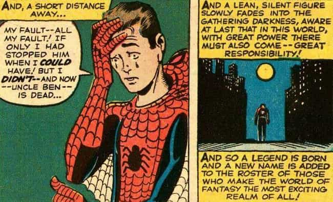 Spider-Man is listed (or ranked) 2 on the list The Best Superhero Catchphrases in Comics