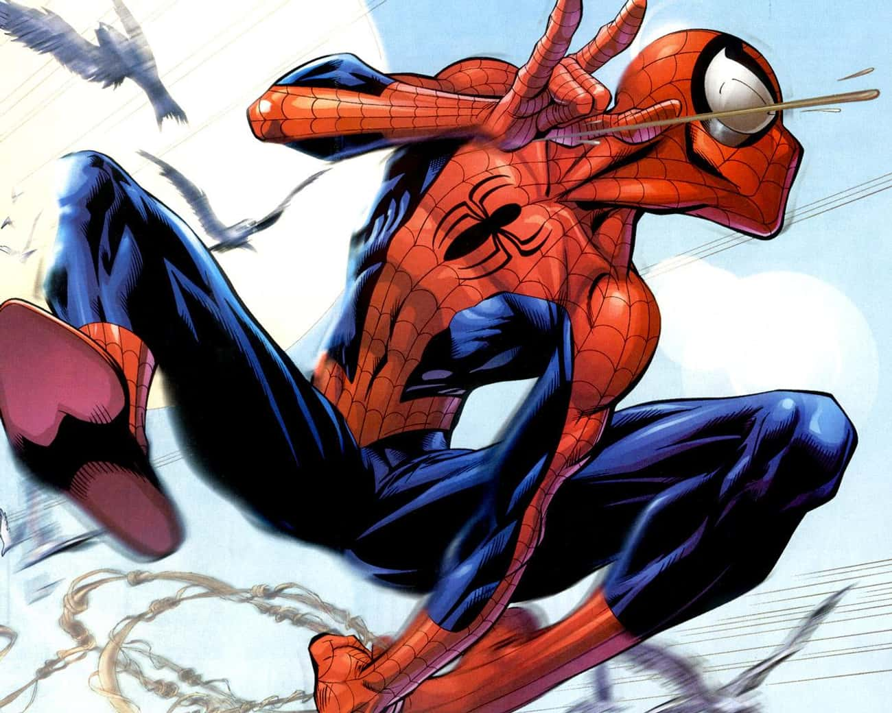 Spider-Man is listed (or ranked) 3 on the list The Best Superhero Mentors