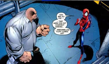 Spider-Man is listed (or ranked) 2 on the list The Funniest Comic Book Superheroes
