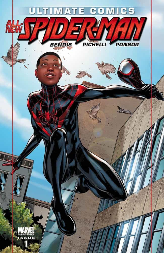 Spider-Man is listed (or ranked) 3 on the list African American Comic Book Heroes Who Replaced White Ones