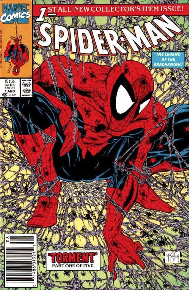 Spider-Man is listed (or ranked) 4 on the list Top 100 Most Popular Superheroes and Villains in Comic Books