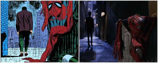 Spider-Man 2 is listed (or ranked) 1 on the list Marvel Movies That Perfectly Recreate Panels From The Comics