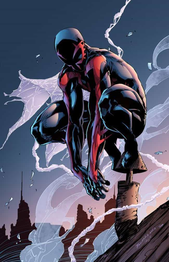 Spider-Man 2099 is listed (or ranked) 3 on the list Who's the Best Spider-Man in the Spider-Verse?