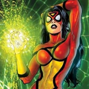 Spider-Woman (Jessica Drew) is listed (or ranked) 24 on the list Comic Book Characters We Want to See on Film