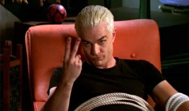 Spike is listed (or ranked) 4 on the list 14 Fan-Favorite TV Characters Who Were Never Supposed To Have Major Roles