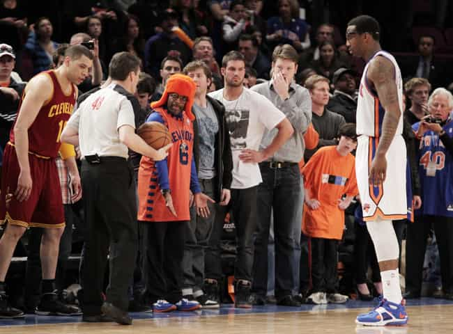 quality design 2bdfa acc62 Celebrity Knicks Fans