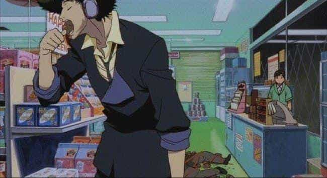 Spike Spiegel is listed (or ranked) 4 on the list The 20 Best Cancer Anime Characters Born June 22 - July 22