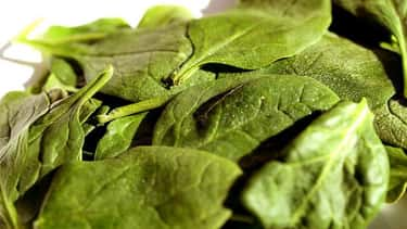 Spinach can cause kidney stones