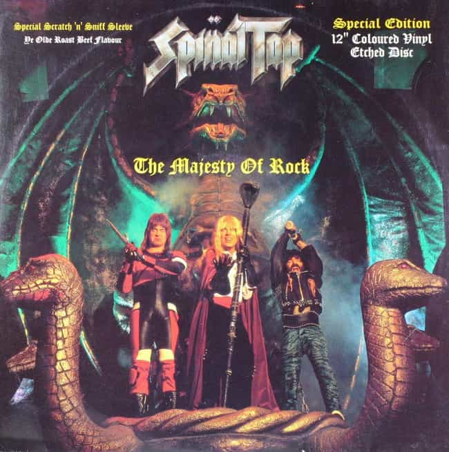 Spinal Tap is listed (or ranked) 4 on the list The Best Musicians Who Don't Exist in Real Life