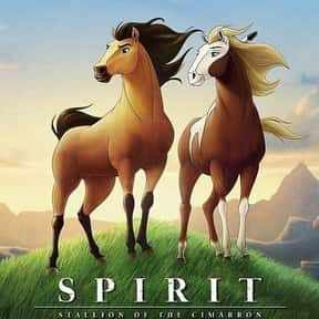 Spirit: Stallion of the Cimarr is listed (or ranked) 23 on the list The Greatest Animal Movies Ever Made