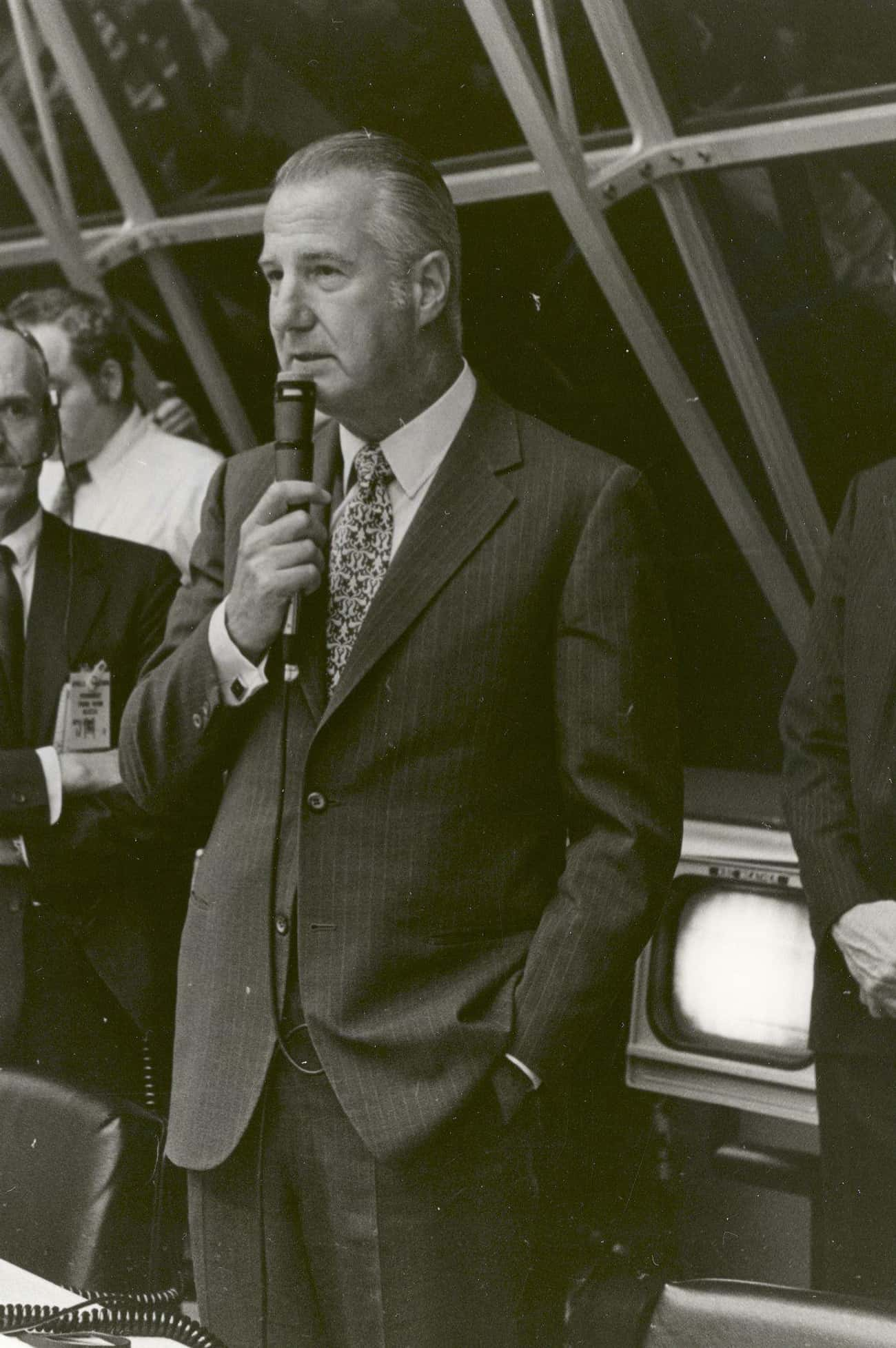 Spiro Agnew is listed (or ranked) 1 on the list 15 Politicians Who Were Caught Taking Bribes