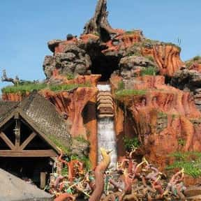 Splash Mountain is listed (or ranked) 5 on the list The Best Rides at Disneyland