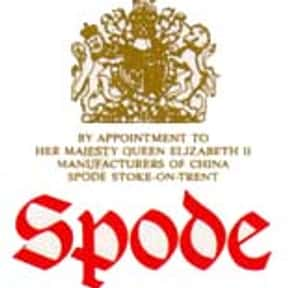 Spode is listed (or ranked) 11 on the list The Best Dinnerware Brands