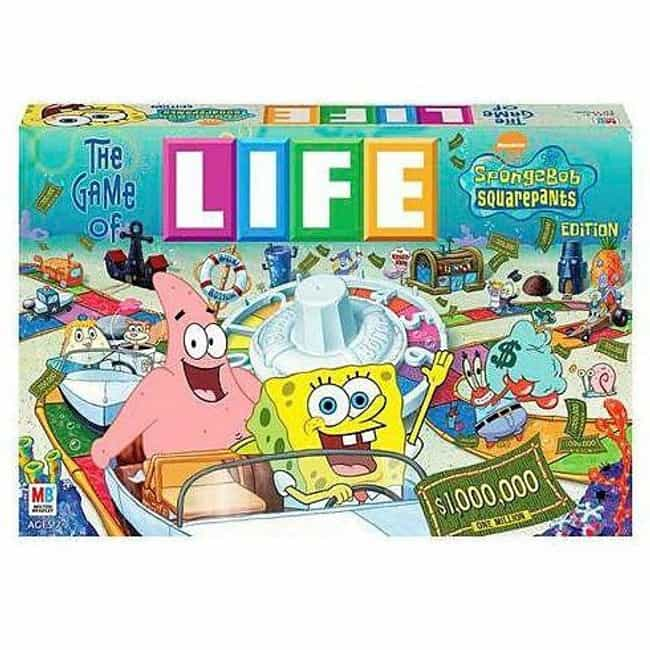 SpongeBob SquarePants is listed (or ranked) 2 on the list The Best Editions of The Game of Life