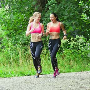 Jogging is listed (or ranked) 17 on the list The Best Solo Sports Ever