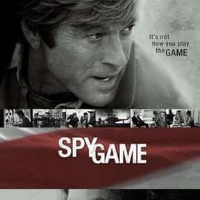 Spy Game is listed (or ranked) 24 on the list The Best Brad Pitt Movies