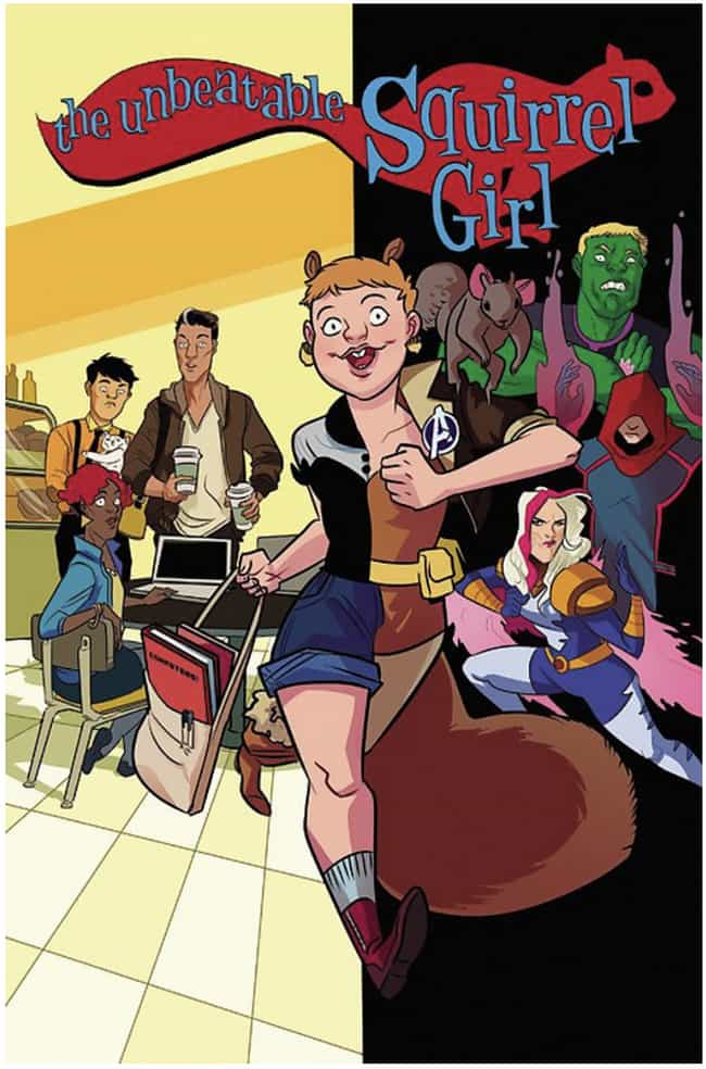 Squirrel Girl is listed (or ranked) 1 on the list The Most Useless Super Powers in Comics