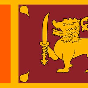 Sri Lanka is listed (or ranked) 25 on the list The Prettiest Flags in the World