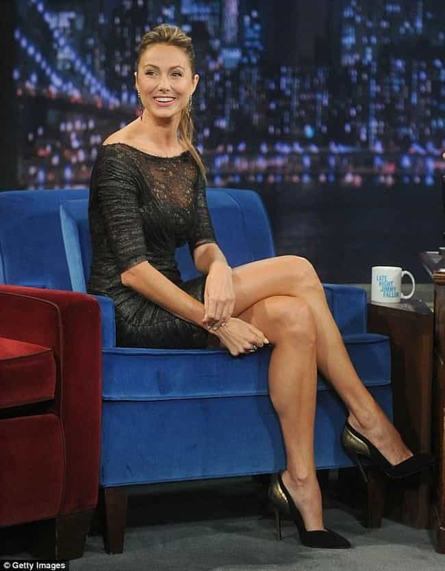 Stacy Keibler is listed (or ranked) 4 on the list The Most Gorgeous Crossed Legs in Show