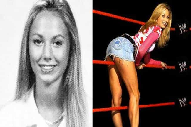 Stacy Keibler is listed (or ranked) 4 on the list Hilarious Yearbook Photos of WWE Superstars