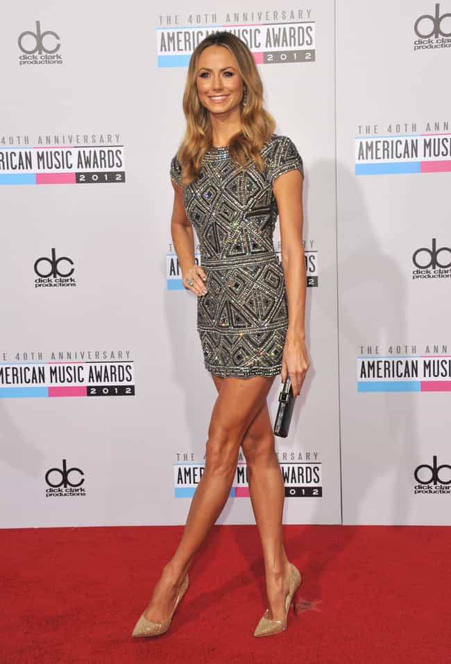 Stacy Keibler is listed (or ranked) 2 on the list Which Celeb Has The Most Beautiful Legs?