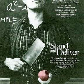 Stand and Deliver is listed (or ranked) 9 on the list The Best '80s Movies About Life in the 'Hood