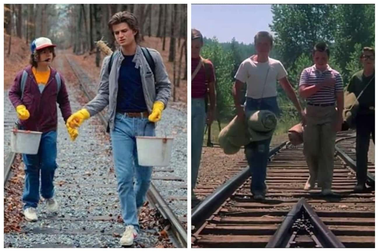 Stand by Me is listed (or ranked) 1 on the list All The Movie Callbacks In 'Stranger Things'