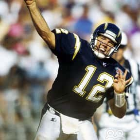 Stan Humphries is listed (or ranked) 4 on the list The Best Los Angeles Chargers Quarterbacks of All Time