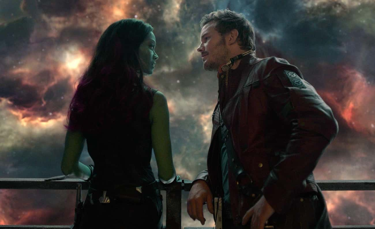 Peter Quill And Gamora is listed (or ranked) 3 on the list The Best Romantic Relationships In The MCU