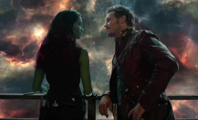 Star-Lord is listed (or ranked) 3 on the list The Best Romantic Relationships In The MCU