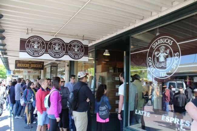 Starbucks is listed (or ranked) 1 on the list Well-Known Franchises Whose Original Locations Are Still In Business