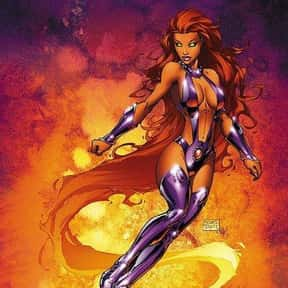 Starfire is listed (or ranked) 3 on the list The Best Teenage Superheroes