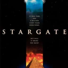 Stargate is listed (or ranked) 3 on the list The Best Space Movies