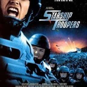 Starship Troopers is listed (or ranked) 10 on the list The Best Alien Horror Movies Ever Made