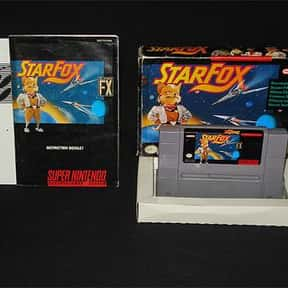 Star Fox is listed (or ranked) 18 on the list The Best Space Combat Simulator Games of All Time