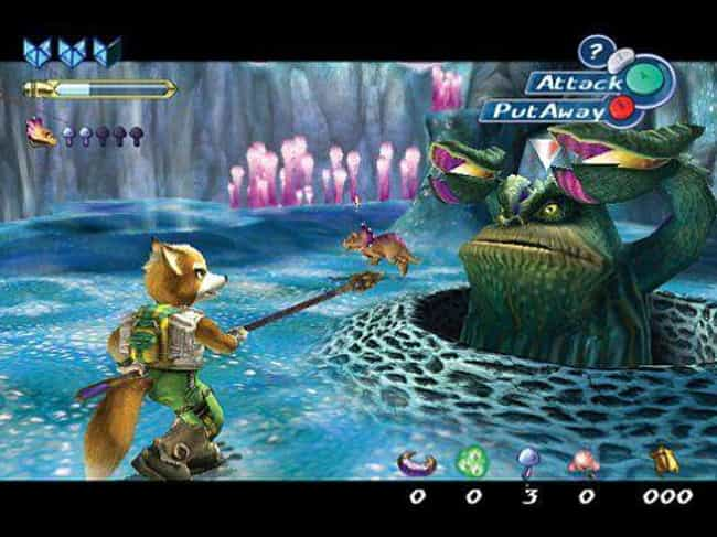 Star Fox Adventures is listed (or ranked) 4 on the list 10 Video Games That Are The Black Sheep Of Their Franchise