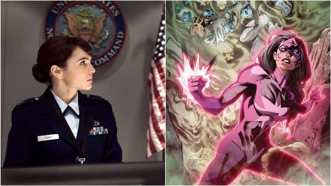 Major Carrie Farris from Batman v. Super-Man: Dawn of Justice is the first-ever member of the Star Sapphire Corps.