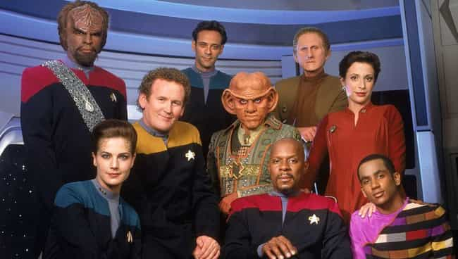 Star Trek: Deep Space Nine is listed (or ranked) 4 on the list All 20 Star Trek Series & Movies, Ranked by Trekkies