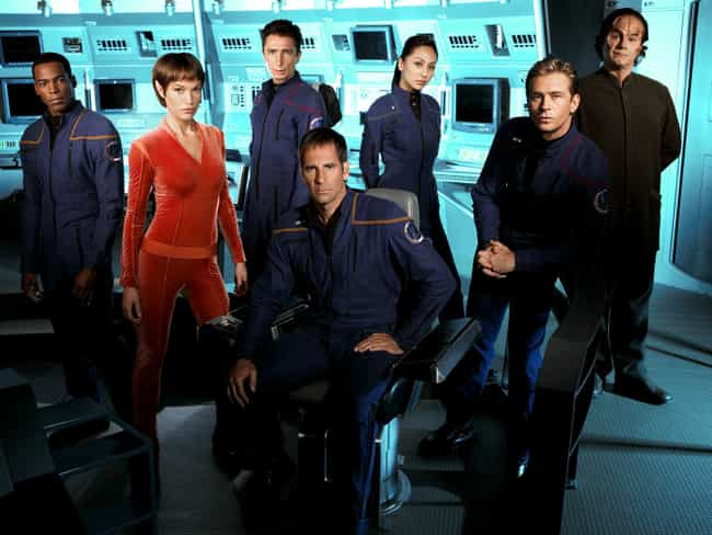 Star Trek: Enterprise is listed (or ranked) 3 on the list TV Shows Produced By Merri D. Howard