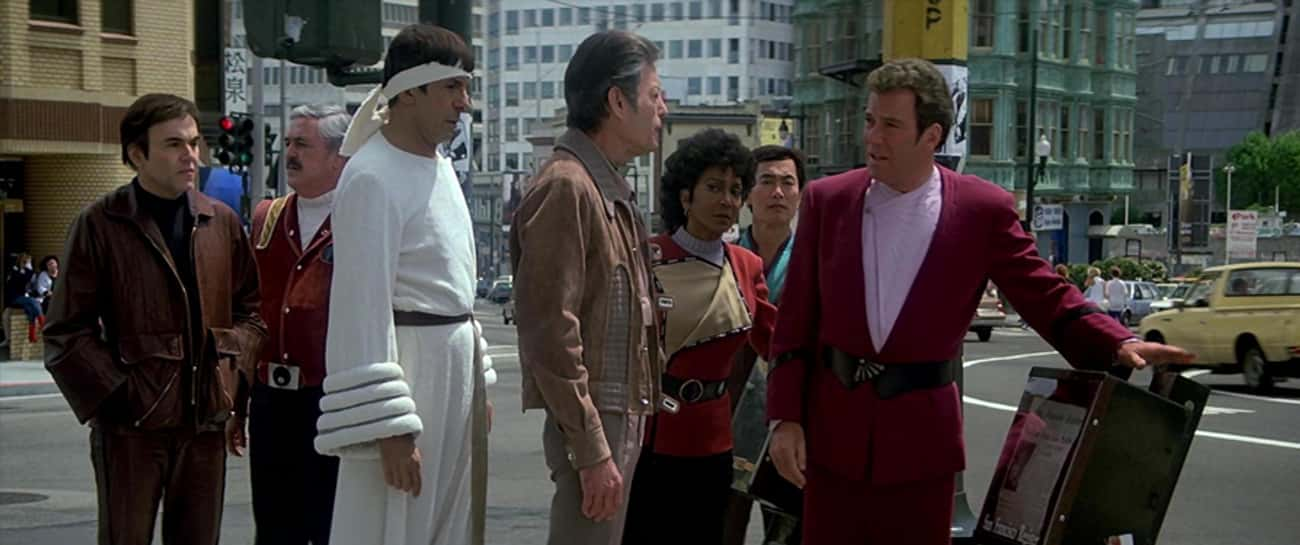 Star Trek IV: The Voyage Home is listed (or ranked) 3 on the list All 22 Star Trek Series & Movies, Ranked by Trekkies