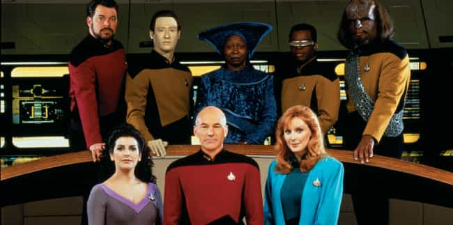 Star Trek: The Next Generation is listed (or ranked) 3 on the list All 20 Star Trek Series & Movies, Ranked by Trekkies
