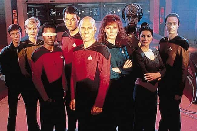 Star Trek: The Next Generation is listed (or ranked) 4 on the list 15 Great TV Shows That Had Really Terrible First Seasons