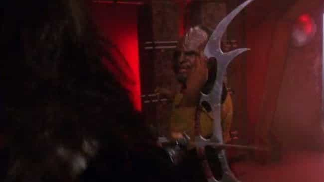 Star Trek: The Next Generation is listed (or ranked) 8 on the list The Dumbest Fictional Weapons Of All Time