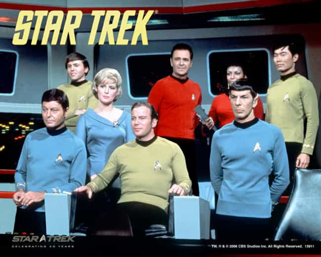 Star Trek: The Original Series is listed (or ranked) 8 on the list The Best Adventure Shows & Movies, Ranked