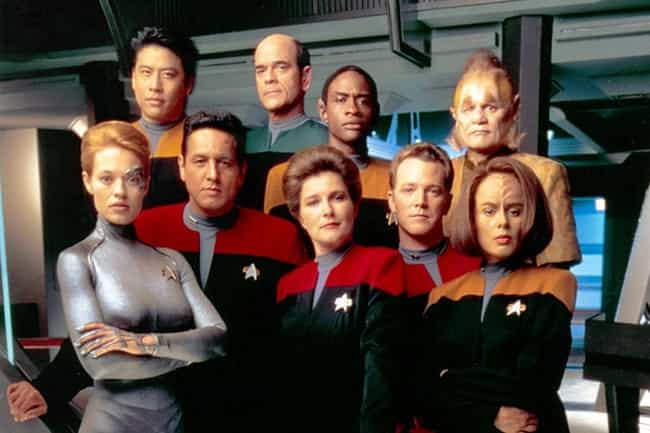 Star Trek: Voyager is listed (or ranked) 8 on the list All 20 Star Trek Series & Movies, Ranked by Trekkies